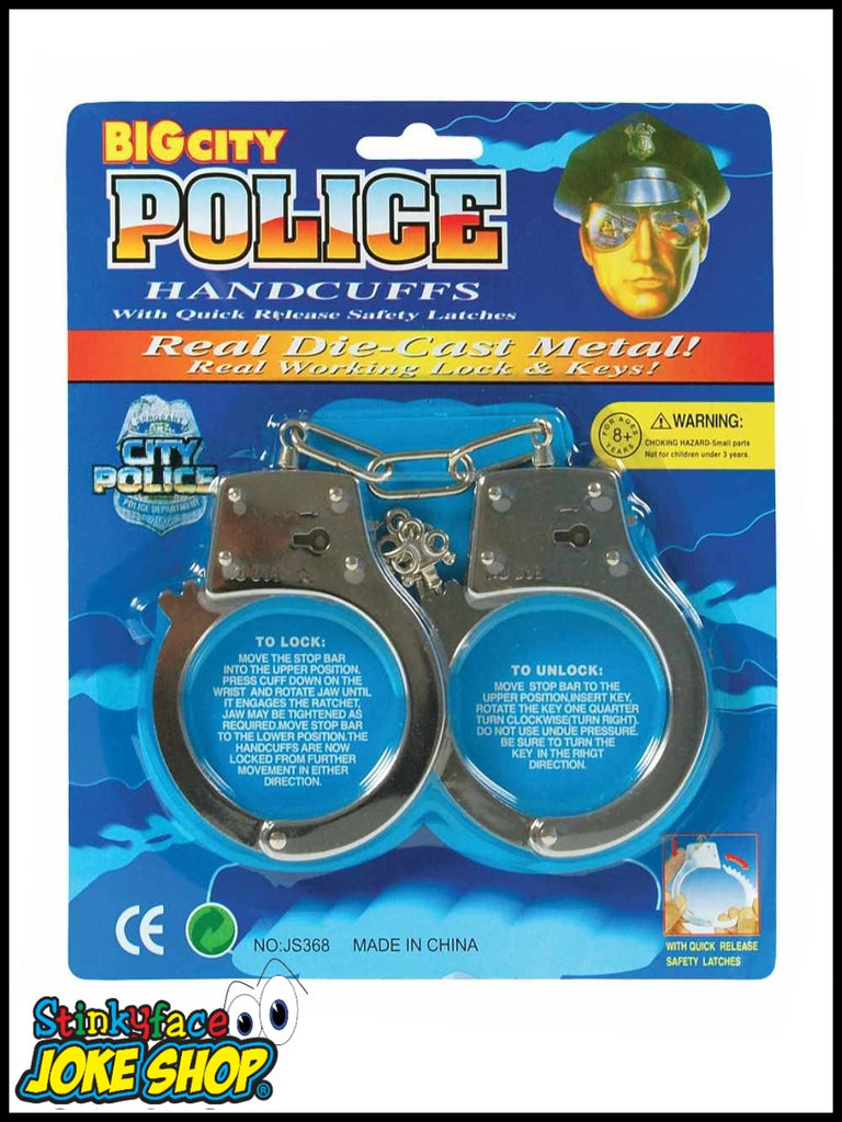 City Police Metal Handcuffs