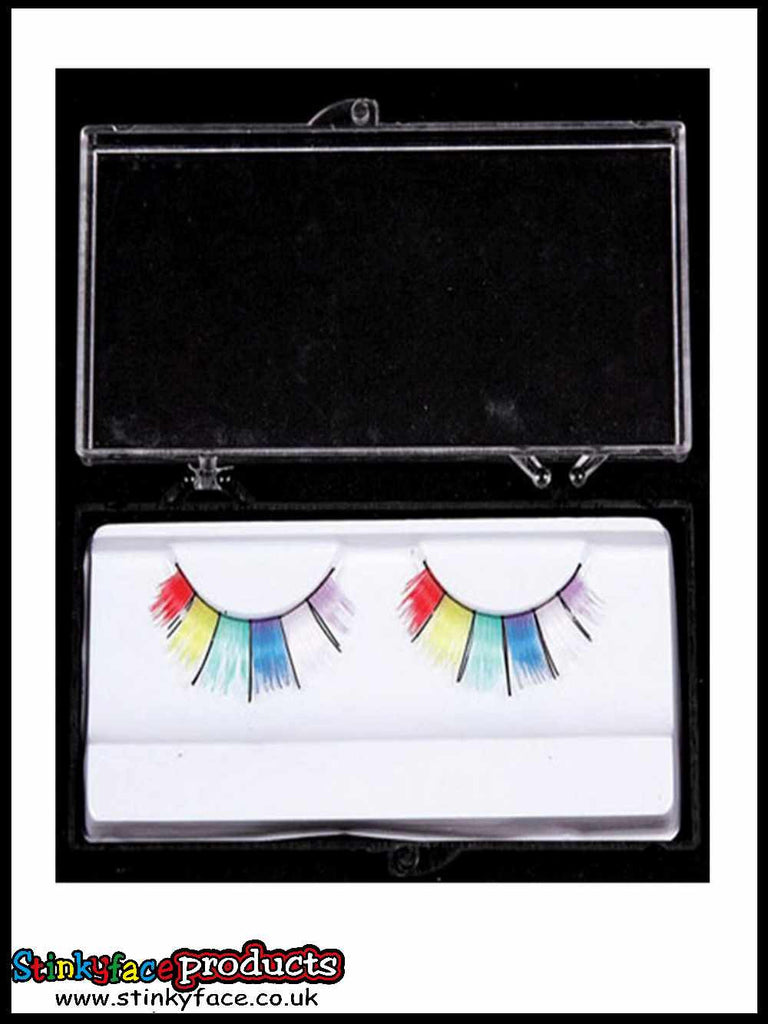 Wide Rainbow Eyelashes