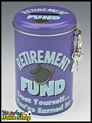 Retirement Fund Tin