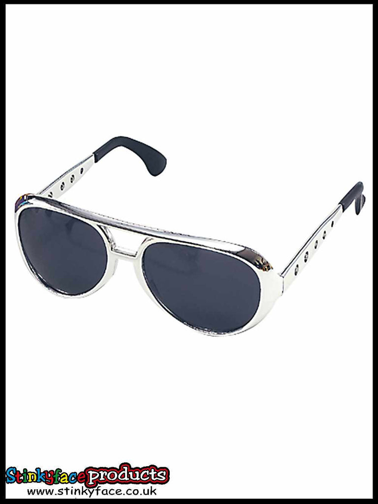 Rock Star Sunglasses Silver
