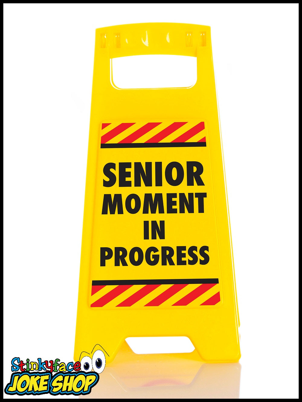 Desk Warnng Sign - Senior Moments