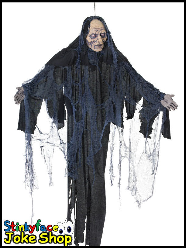 6ft Hanging Light up Female Zombie Shroud