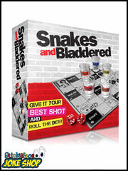 Snakes & Bladdered Drinking Game