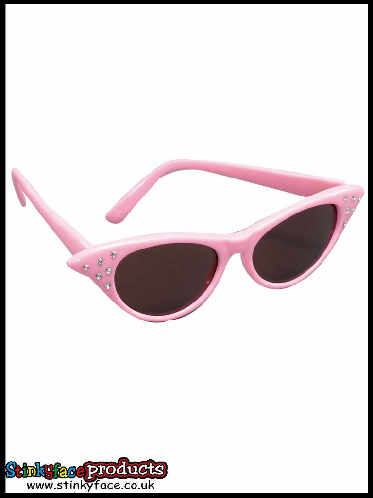 Pink 50's Sunglasses