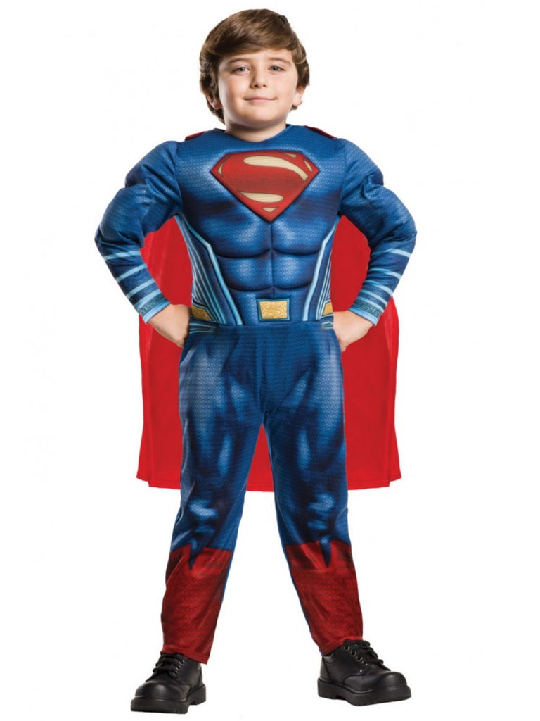 Superman Kids Deluxe Fancy Dress Costume