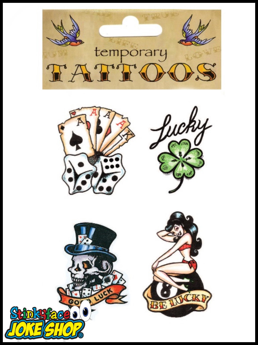 Temporary Tattoo (Good Luck)