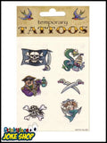 Temporary Tattoo (Pirate)