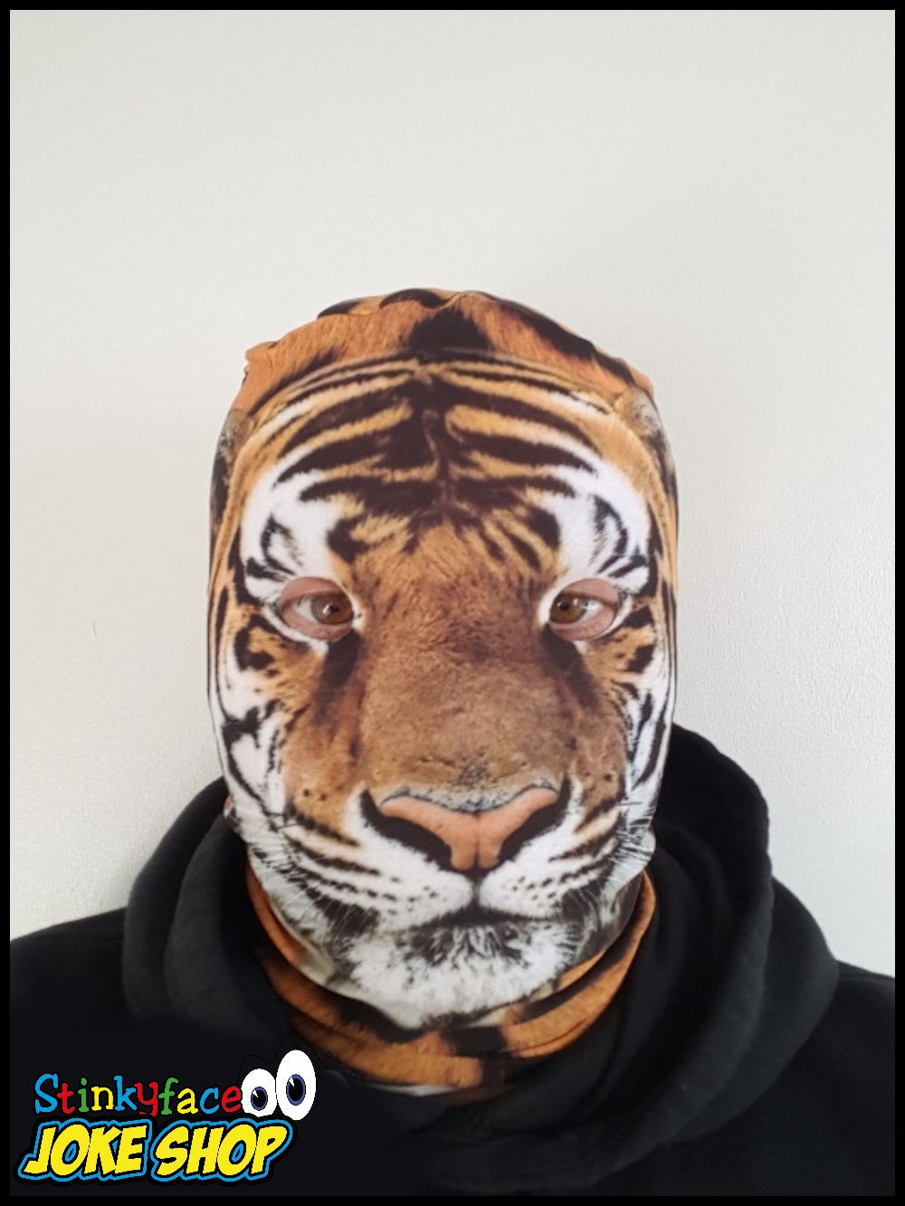 490f29b87b7879 Animal Printed Tiger Mask