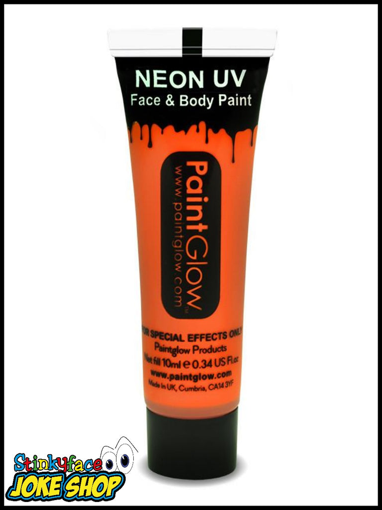 Orange UV Neon Face & Body Paint 13ml