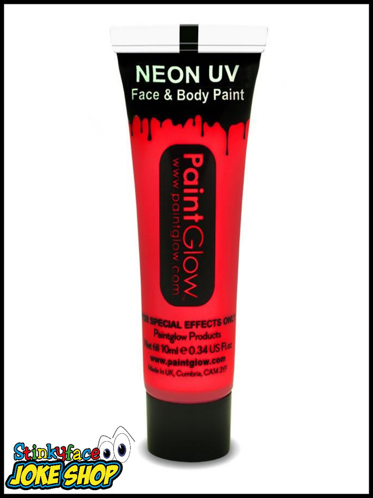 Red UV Neon Face & Body Paint 13ml