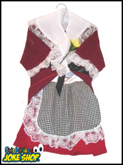Girls Traditional Welsh Ladies Costume