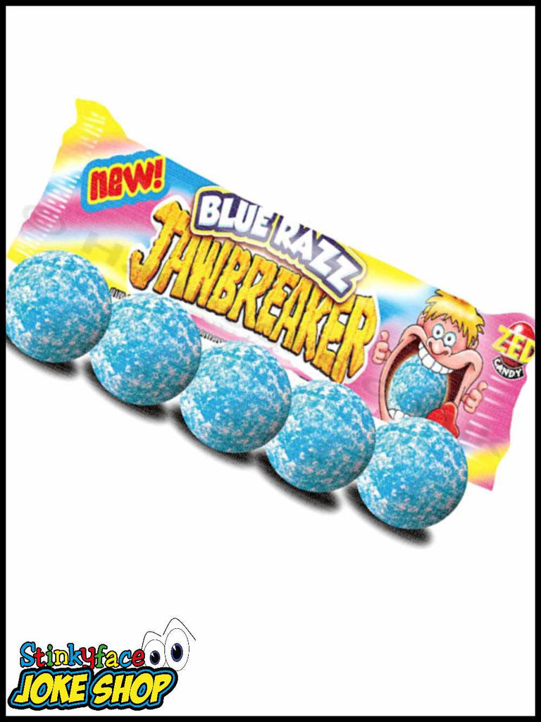 ZED CANDY BLUE RASPBERRY JAWBREAKER