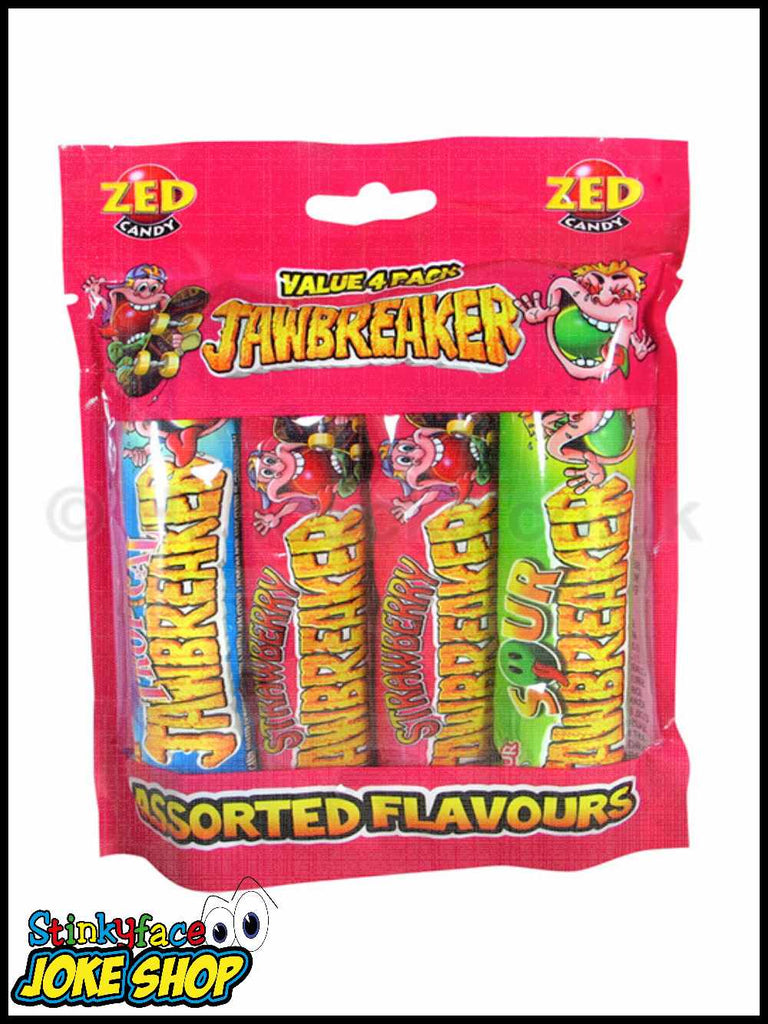 ZED CANDY JAWBREAKER VALUE 4 PACK
