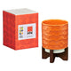 Orla Kiely sixties pot stand i tomato orange