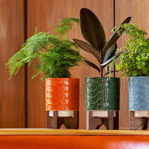 Orla Kiely sixties pot stand i alle farger