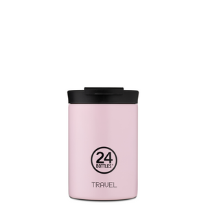 Termokopp fra 24Bottle, take away Candy Pink