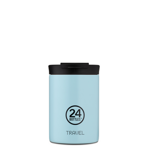 Termokopp fra 24Bottle, take away Cloud Blue