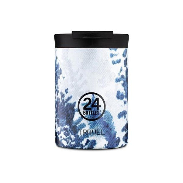 Travel tumbler fra 24bottles hush