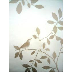 Vindusfolie  34x98 cm Bronse, Birds in Tree - R8 Design