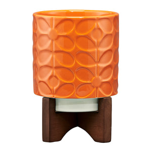 Orla Kiely sixties pot stand i orange tomato