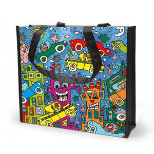 Shopping nett, Not getting around the Traffic, James Rizzi Pop-Art - R8 Design