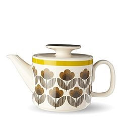 Tekanne Poppy Meadow Brown fra Orla Kiely - R8 Design