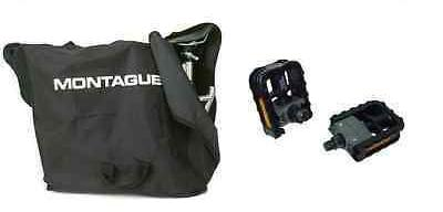 Montague Carry Bag Plus Folding Pedals Combo Save more