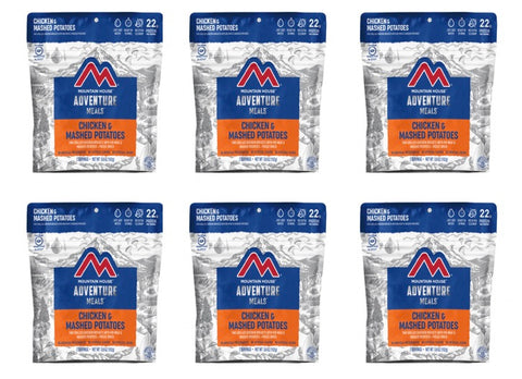 Mountain House Chicken & Mashed Potato Dinner Entree Pouches (6 Pouches/Case) CLEAN LABEL