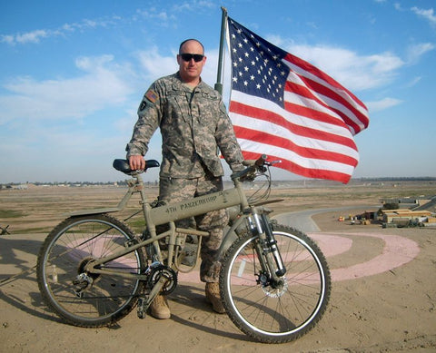 Montague Paratrooper Pro Military Folding Bike 20""