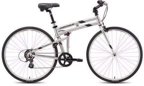 "Montague Crosstown 17"" 700cc Folding Bike"
