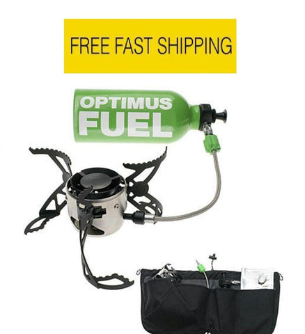 Optimus Nova+ (Multi Liquid Fuel) Camping/Hiking Camp Stove