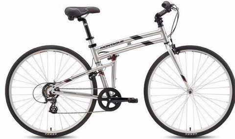 "Montague Folding Bike Crosstown 19"" 700cc Bicycle"