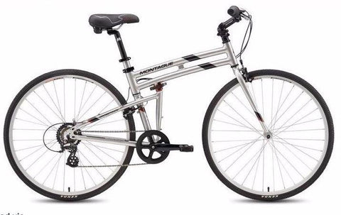 "Montague Crosstown 21"" 700cc Folding Bike"