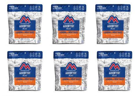 Mountain House Lasagna with Meat Sauce Entree Pouches (6 Pouches/Case) CLEAN LABEL