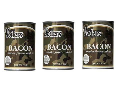 Bacon- 3 cans