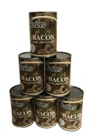 Bacon- 6 cans