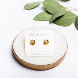 GOLD LEAF COLOUR POP STUDS