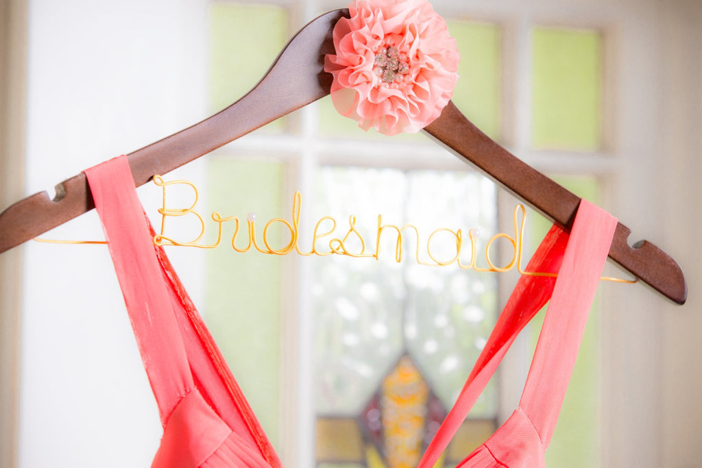 Bridesmaid Coat Hangers