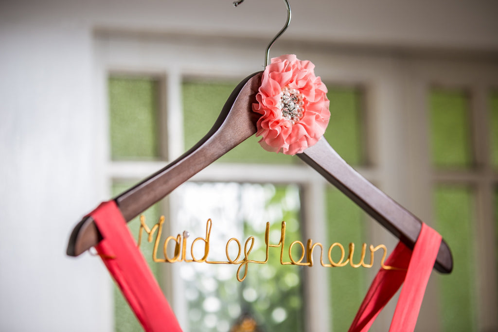 Maid of Honour Coat Hangers