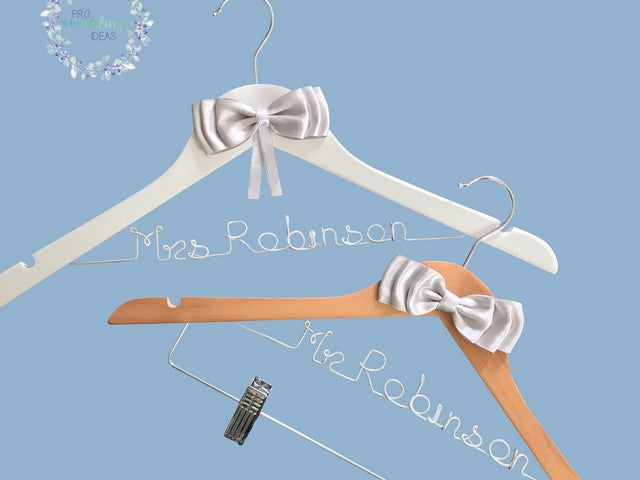 Personalised / Name Bridal Coat Hanger