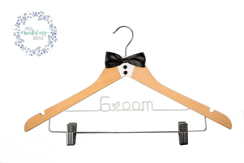 Groom Coat Hangers