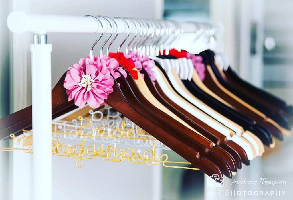 Bridal Dress Coat Hangers