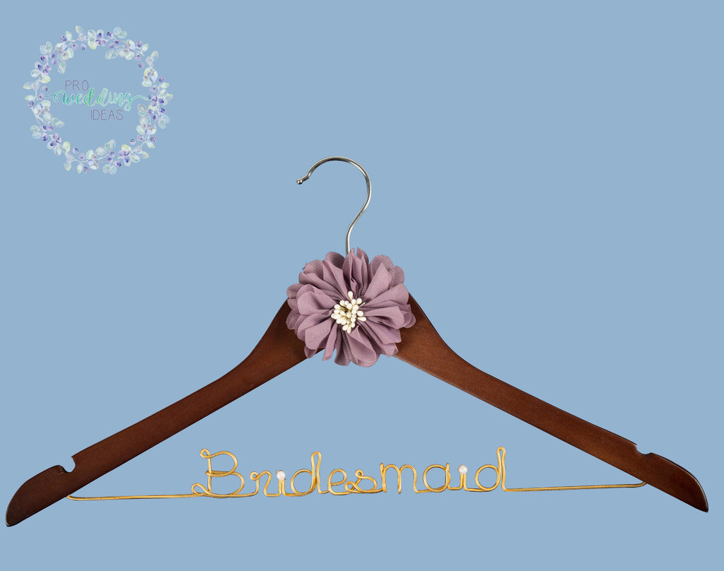 Bridesmaid Custom Bridal Party Coat Hanger Starburst Style 01