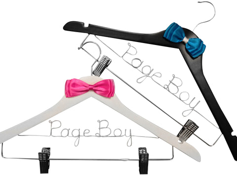 1 Pc Page Boy Coat Hanger Bow Style