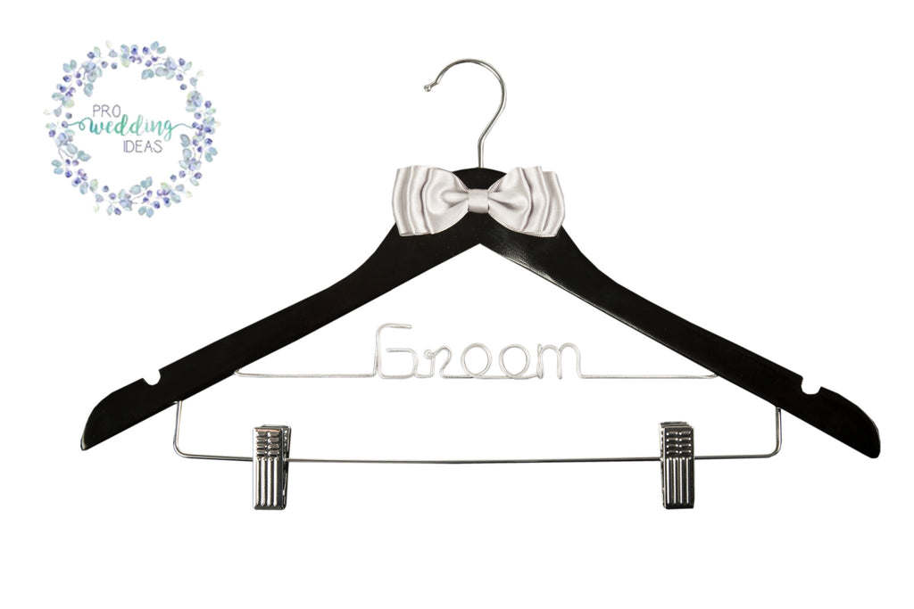 Groom Bow Styled Coat with Clips