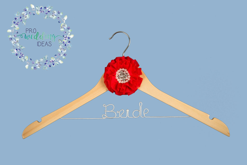 Bride - Wedding Coat Hanger Parisian Style 04