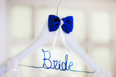 Bride Wooden Bride Coat Hanger Something Blue Style 10