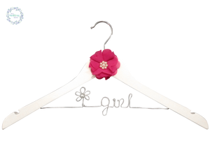 Flower Girl Coat Hanger