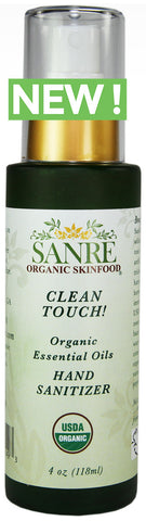 CLEAN TOUCH! USDA Organic Hand Sanitizer