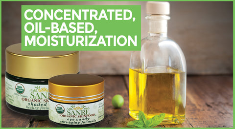 Concentrated, Oil-Based, Moisturization - SanRe Organic Skinfood